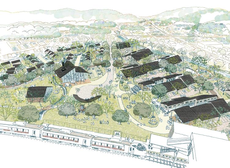 「双葉駅西側地区 再生賃貸住宅・災害公営住宅プロジェクト」専用Webサイトがオープン!